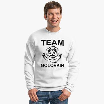 3d44f5a41c760c Gennady Golovkin Team Golovkin Crewneck Sweatshirt