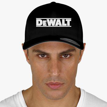 Dewalt 3D GESTICKT EInstrumente Werkzeuge Logo Kappe Mütze Baseball Cap Herren