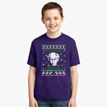 Christmas Ugly Sweater.Larry David Pretty Good Christmas Ugly Sweater Youth T Shirt Hoodiego Com