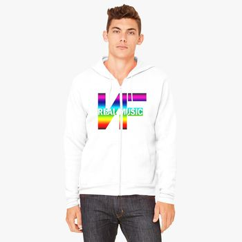 0f37987d487e7 nf real music Unisex Zip-Up Hoodie