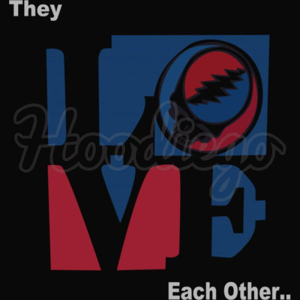 They Love Each Other Grateful Dead Kids Hoodie Hoodiego Com
