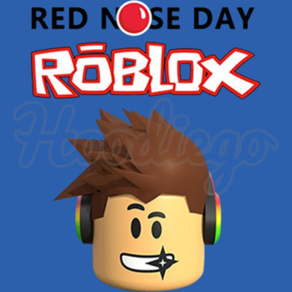 Roblox Red Nose Day Unisex Hoodie Hoodiego Com