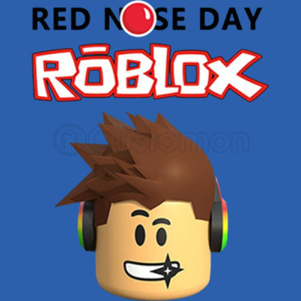 Roblox Red Nose Day Unisex Hoodie Hoodiegocom -