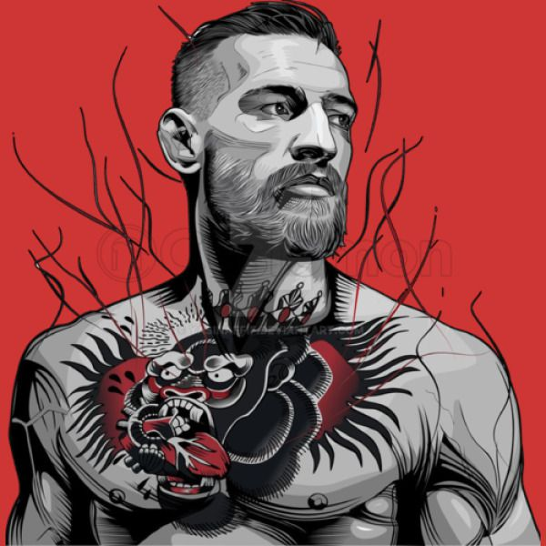 6d04bb83 Conor Mcgregor the Notorious Tattoo Youth T-shirt | Hoodiego.com
