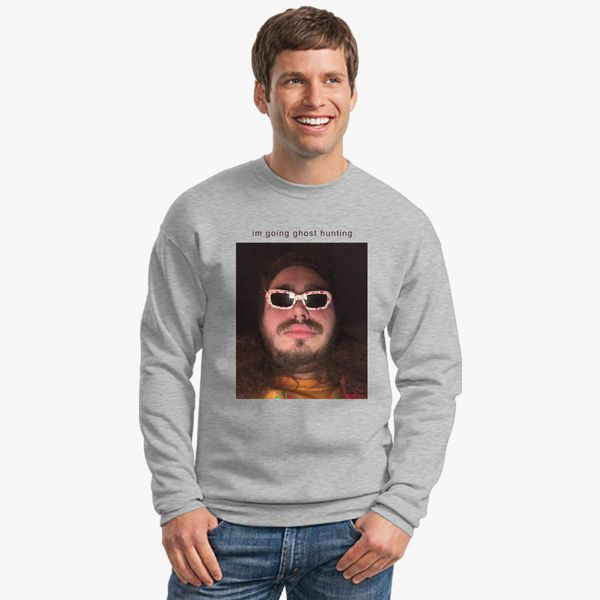 Post Malone Going Ghost Hunting Crewneck Sweatshirt