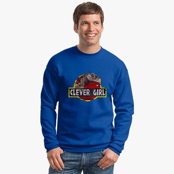 Clever Girl Blue: Clever Girl Crewneck Sweatshirt