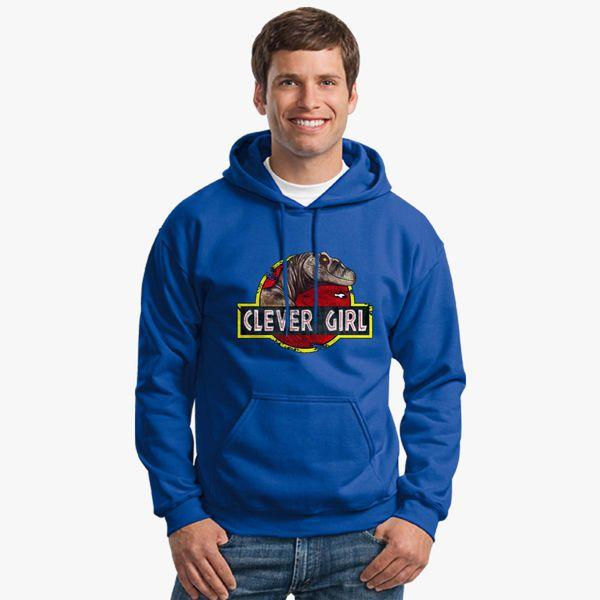 Clever Girl Blue: Clever Girl Unisex Hoodie