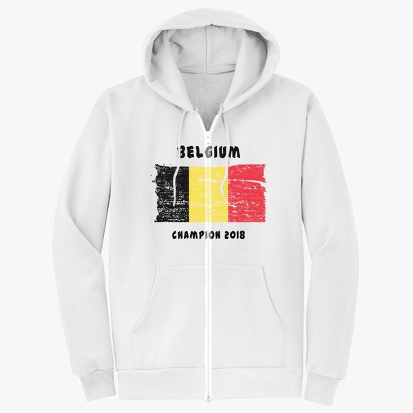 3b31fa25e Belgium fifa world cup 2018 Unisex Zip-Up Hoodie ...