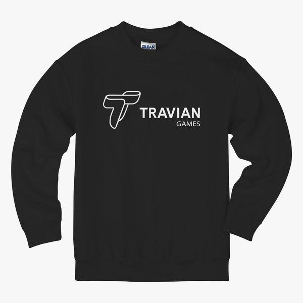 Travian Games Kids Sweatshirt | Hoodiego com