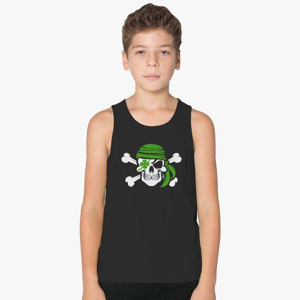 Arrish Irish Pirate St Patricks Day Kids Tank Top   Hoodiego com